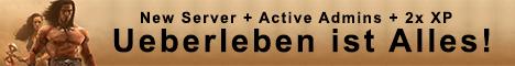 [GER | PvP] Ueberleben ist Alles! [Active admins]